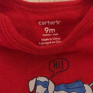 Carter's One Pieces - Carter's Super Dog Onesies